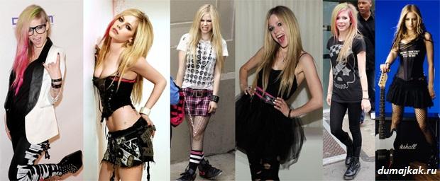 что одеть на рок-концерт девушке