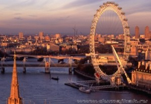 Лондон ай, колесо обозрения Лондон, london eye фото, лондонский глаз фото