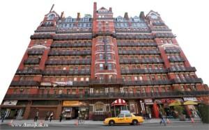 отель Chelsea Hotel, нью-йорк, ненси спанжер