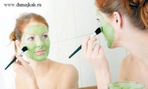 маска из авокадо для шелушащейся кожи