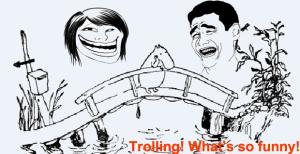 как бороться с троллями