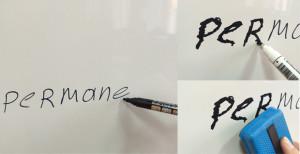 Как стереть маркер перманентный с маркерной доски