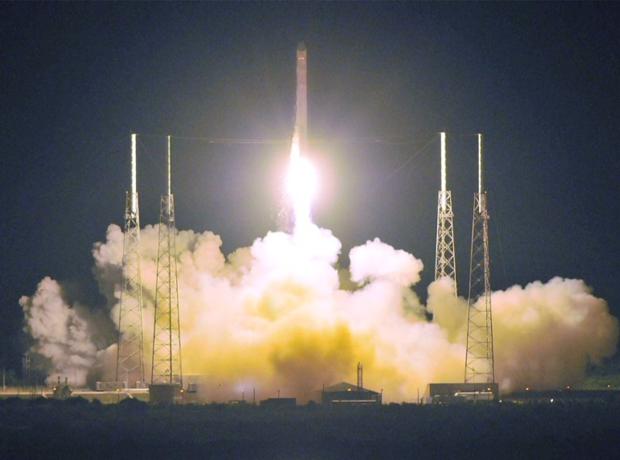 Elon Musk запуск Falcon 9